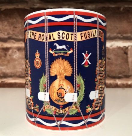 1st Bn The Royal Scots Fusiliers Drum Mug